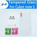 Cubot примечание S Закаленное стекло 100% Высокое Качество Защитная Пленка взрывозащищенный Премиум Экран Для Cubot примечание S 5.5 Дюймов