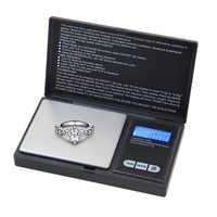 ACCT 100g x 0,01g Elektronische Taschen Waage Labor Balance Digital High Precision Mini Werkzeuge Waage Schmuck Waagen