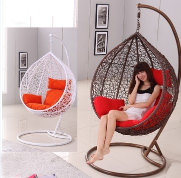 1214 swing chair indoor rattan hanging basket swing
