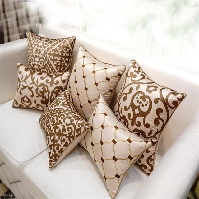 Online Shop European High End Embroidery Cushions Luxury Decor Throw Inspiration High End Decorative Pillows
