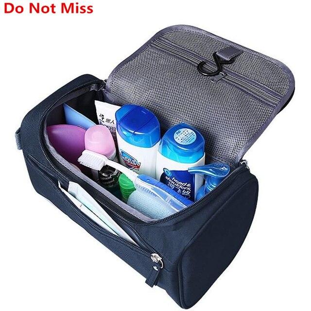 a9698fd5d8b8 US $6.34 25% OFF|Travel Cosmetic Organizer Bag Waterproof Wash Bag Men  Women Cosmetic Makeup Bag Hanging Toiletry Bag Necessaries Make Up Case-in  ...