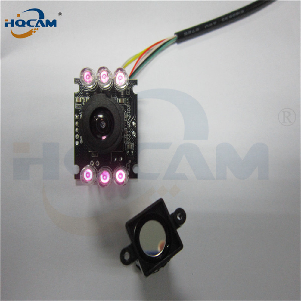 Image 5 - HQCAM 10PCS 850nm IR led 1080P Mini usb camera module IR infrared Night vision CMOS Board Camera for Android Linux Windows-in Surveillance Cameras from Security & Protection