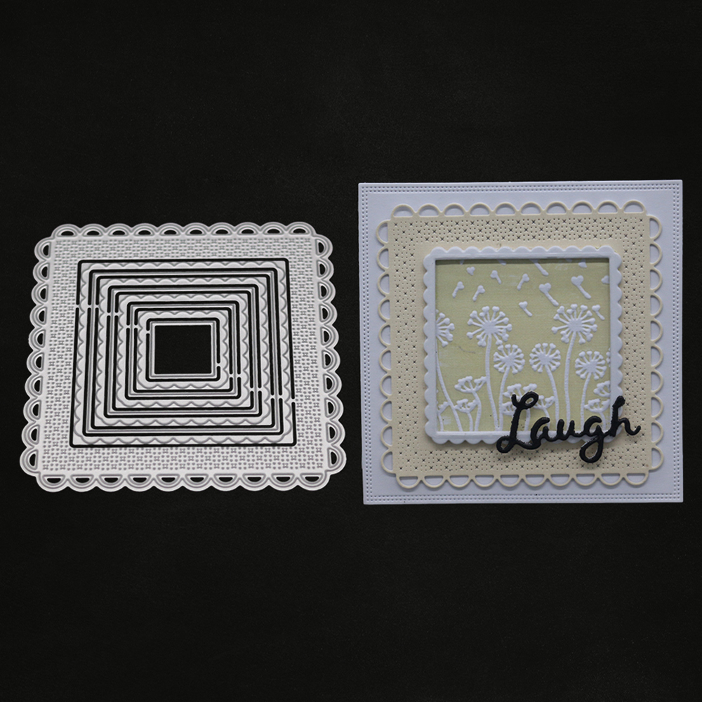 Carbon Steel Cutter Dies Night Backdrop Handmade Molding Cutting Template Card S