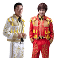 Spanish matador performance clothing men's European court embroidery dress stage performance suit Jacket + pants + vest