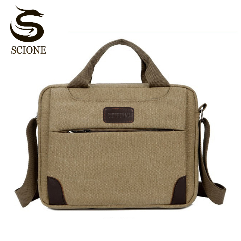 Hot Selling High Quality Multifunction Men Canvas Bag Casual Travel Bolsa Masculina Men's Crossbody Bag Men Messenger Bags