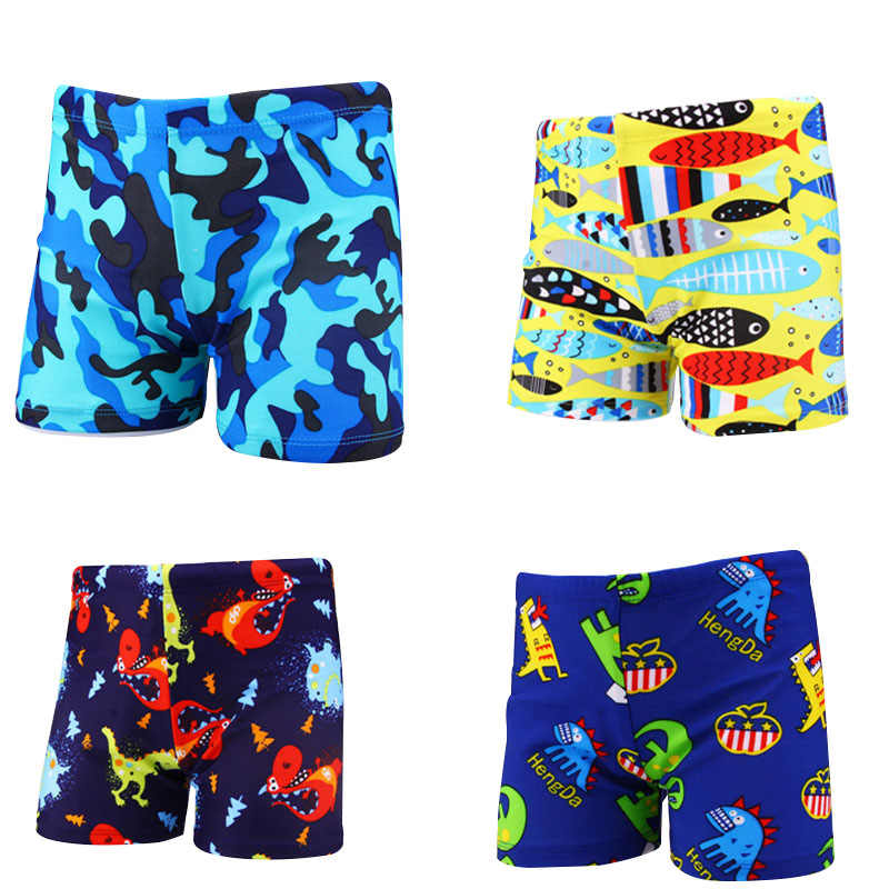 50775d1b22 plus size boys swimwear cartoon animal camouflage print swimming trunks  swimming suit for baby boy swimwear