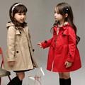 Otoño niños de la capa Larga outwear kid chaquetas chaqueta A Cuadros de moda casual rompevientos 9 10 11 12 14 años los niños ropa para la venta