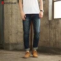 Hot Sale Pure Cotton Denim 2017 New Arrival Men Jeans,European & American Style Fashion Straight Thick Line Jeans Men,830641C-6
