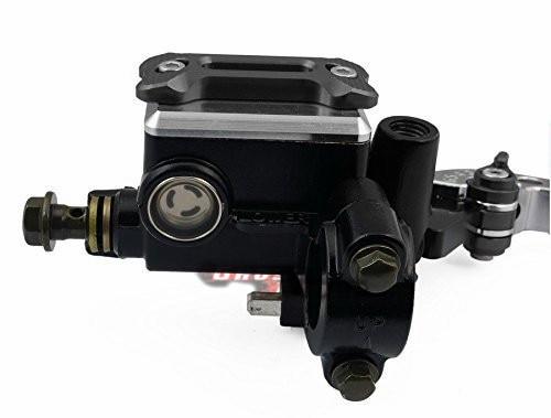 Front Brake Master Cylinder & Cable Clutch Oil Reservoir levers fits for Honda CB599/CB600 HORNET cnc short racing clutch brake levers without brake cylinder and clutch perch for honda cbr250r cb400 cb599 cb600 cb919 cbr900rr