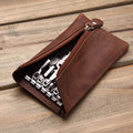 New Arrival Men's Genuine Cow Leather bag for keys Car Key Wallets Fashion Women Housekeeper Holders Wholesale
