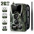 HC801M 2G MMS/E mail/SMS Trail Kamera 16MP 1080P Infrarot LED Nachtsicht Wildlife Kamera Foto trap Überwachung Jagd Kamera-in Jagd-Kameras aus Sport und Unterhaltung bei