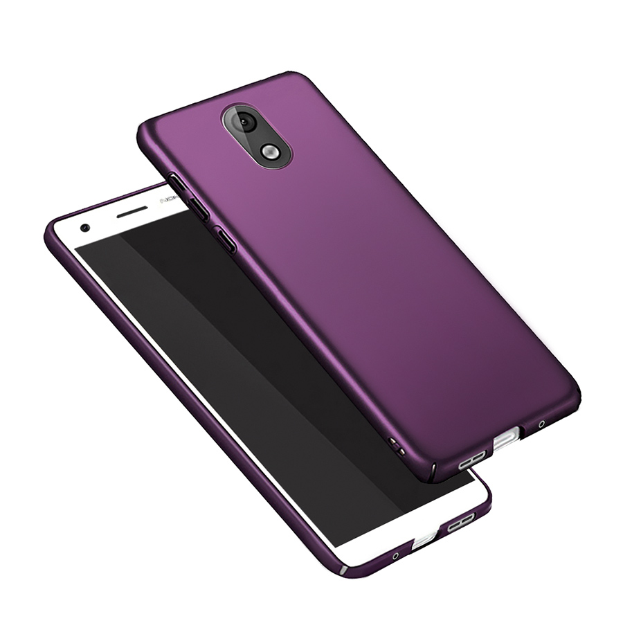 For <font><b>Case</b></font> <font><b>Nokia</b></font> <font><b>3.1</b></font> 2018 <font><b>Hard</b></font> Cover Bumper For <font><b>Nokia</b></font> <font><b>3.1</b></font> 2018 Phone <font><b>Case</b></font> Matte Luxury Protection For Coque <font><b>Nokia</b></font> <font><b>3.1</b></font> 2018 5.2