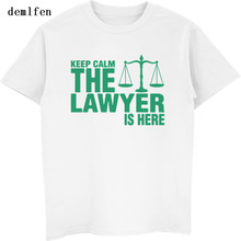 New Keep Calm The Lawyer Is Here T-Shirt
