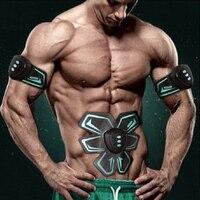 Abdominal Muscular ElectroStimulator Stimulation EMS Waist Home Fitness Gym Machine Equipment Body Building Training Apparatus