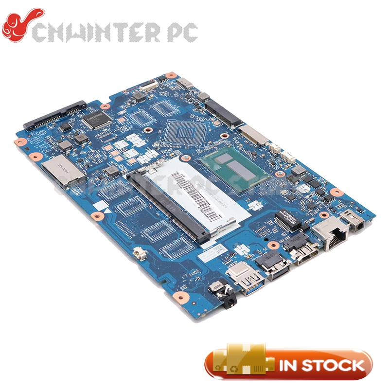 NOKOTION For Lenovo Ideapad 100-15IBD 15.6 inch laptop motherboard 5B20K85613 CG410 CG510 NM-A681 <font><b>SR27G</b></font> I3-5005U CPU image