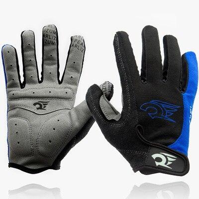 Sport handschuhe voll finger gel gepolsterte radfahren handschuhe männer frauen mountainbike handschuh fahrrad zyklus gel gants velo guantes mtb handschuhe