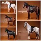 001 ~ 005 1/6 Ганноверская реалистичная модель животного Ганновер Военная Лошадь фигурка для домашних животных модель игрушки для 12 дюймов экшн ...