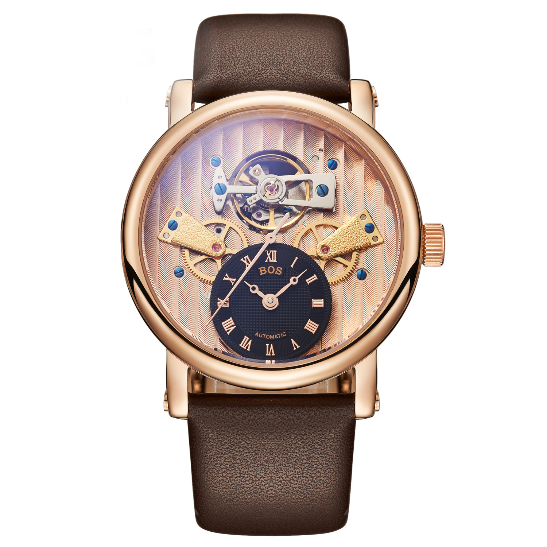 New Brand Watches Hollow Personality Fashion Retro Automatic Mechanical Mens  Wristwatch Clock Waterproof Relogio Masculino