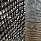 4 мм Блестящий Прозрачный камень 45x120 СМ Металлическая сетчатая ткань металлическая ткань металлические блестки ткань с блестками занавеск...