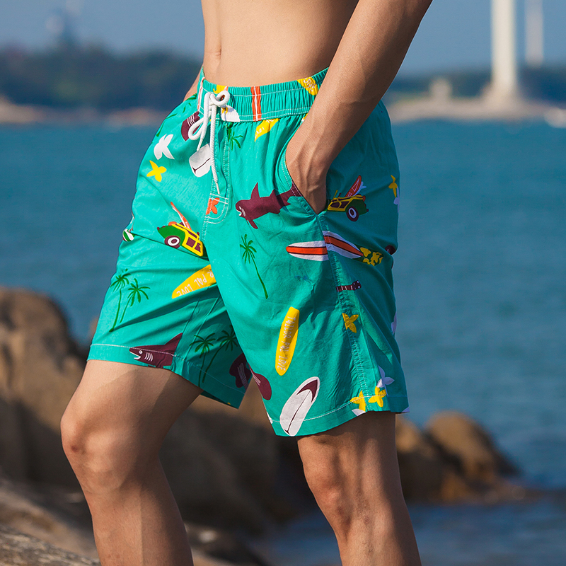 Hot Summer Beach   Board     Shorts   Mens Swim   Shorts   Summer   Board   Surf Swimwear Beach   Short   Running Sports Surffing   Shorts   Beach Wear