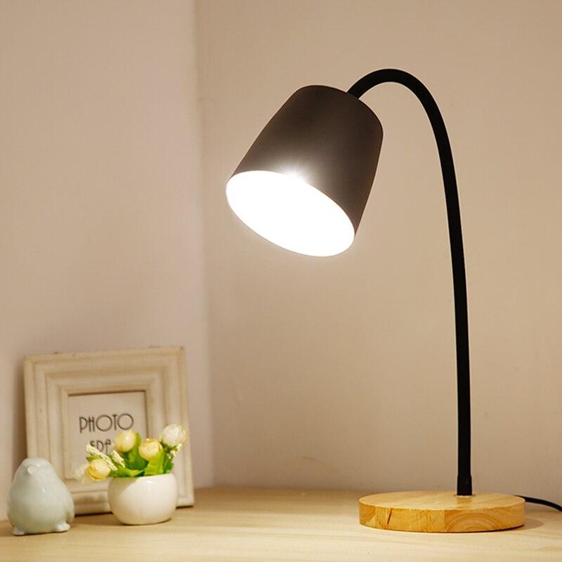 купить New Modern Nicola wood Table Lamp For Living Room Contemporary Desk Lamp Bedside Lamp LED Decorative table lamp E27 по цене 2294.92 рублей