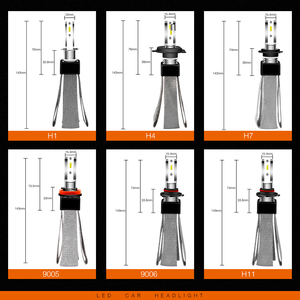 Image 5 - Lslight Led H4 H7 Lamp H11 H1 HB2 H8 H9 HB3 HB4 9005 9006 Led Auto Koplamp Phare Ampul Lamp 110W 12V/24V 6000 K 9600lm Auto