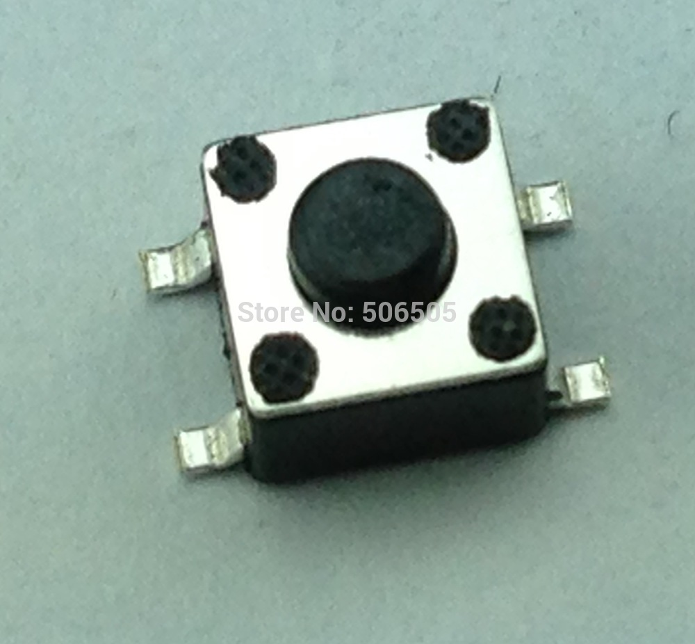Free Shipping 6x6x55mm 4pin Smd Tactile Tact Mini Push Button 5mm Switch Micro Momentary 100pcs Lot In Switches From Lights Lighting On