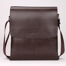 2017  New Genuine Leather Man Messenger Bags Cowhide Male Cross Body Bag Famous Brand Men Commercial Briefcase Bag  LJ-0768