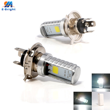 4pcs 9-80V H4 Led Lamp 12W Bulbs 900Lm Fog Light Universal Electric Cars Headlights Driving Lamps Off Road White Free Shipping