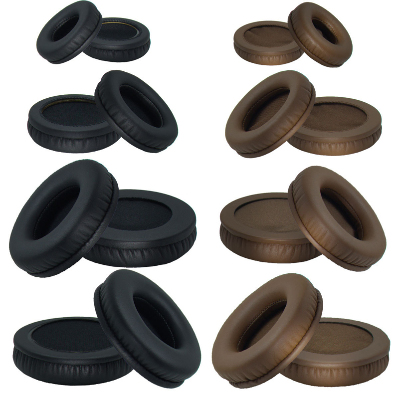 SHELKEE Replacement ear pad Round Ear Cushions Repair parts 50mm 60mm 65mm 70mm 75mm 80mm 85mm 90mm 95mm 100mm 110mm HeadphoneSHELKEE Replacement ear pad Round Ear Cushions Repair parts 50mm 60mm 65mm 70mm 75mm 80mm 85mm 90mm 95mm 100mm 110mm Headphone