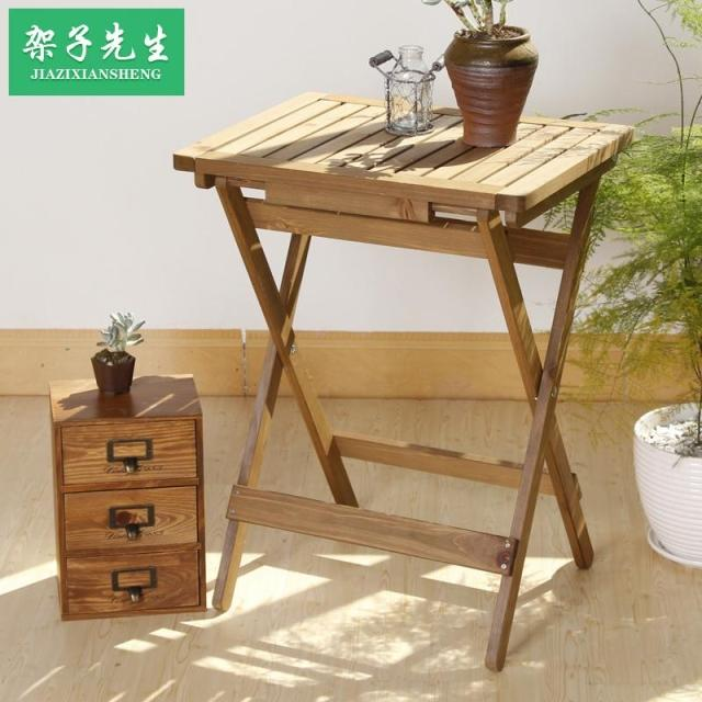 Cheap Wood Folding Free Installation Of Small Wooden Table