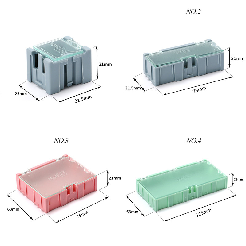 SMD-SMT-IC-Component-Container-Storage-Boxes-Case-Diy-Electronic-Practical-Jewelry-Patch-Box-Case