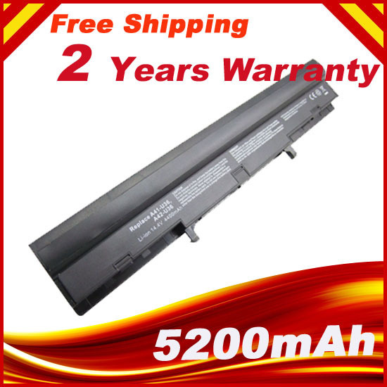 5200mAh 8 Cells new laptop battery for asus A41-U36 A42-U36, U32 U32J U32U U36 U36J U36JC U36S U36SD U36SG U44 U44S U82 U82U U84