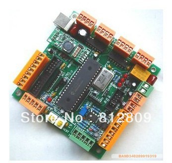 цены A251A For engraving maching CNCUSB MK1 USBCNC 2.1 Substitute MACH3 4 Axis USB CNC Controller Interface Board