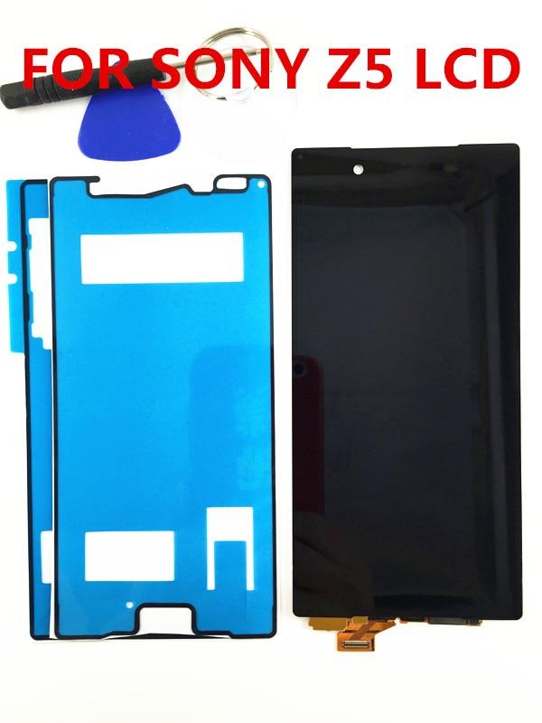 Noir/Blanc Pour Sony Xperia Z5 E6603 E6633 E6653 E6683 LCD Affichage Digitizer Écran Tactile Panneau Assemblée Pièces + outils