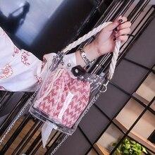 THINKTHENDO 2018 New Fashion Women Fashion Bucket Handbag Shoulder Bag Tote Messenger Crossbody Hobo Bags