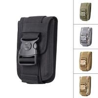Universal Military Tactical Holster Hip Belt Bag Waist Phone Case For Philips S327 Highscreen Easy XL