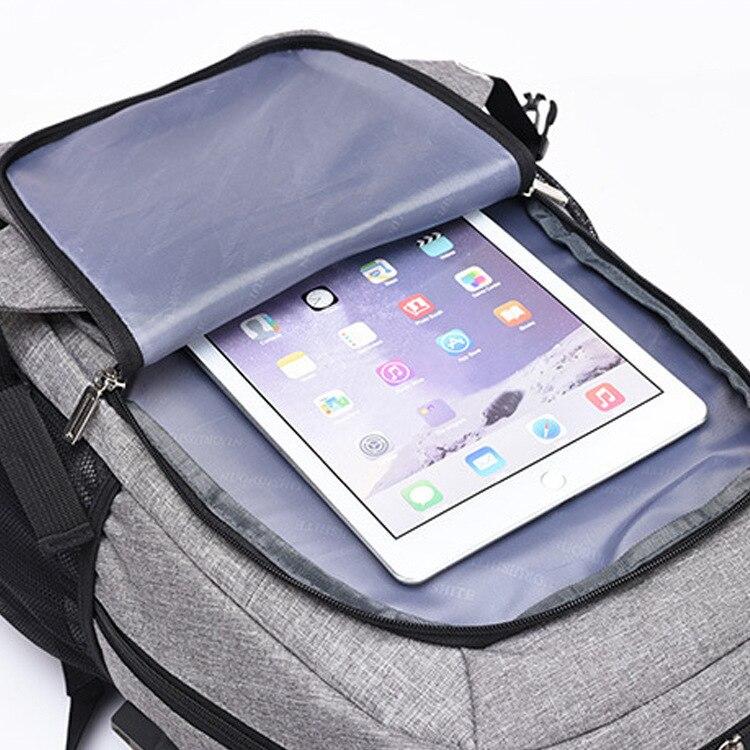 Women Backpack USB Laptop Backpack 15.6 Men Notebook Bag Big Capacity School Bags Business Daypack Nylon Knapsack