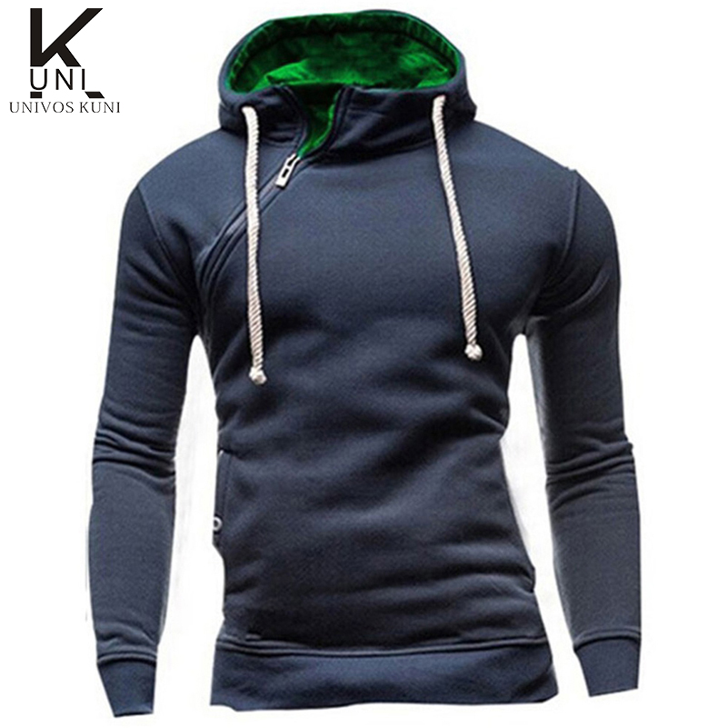 Hoodies Men 2016 Brand Sweatshirt Mens Fashion Solid