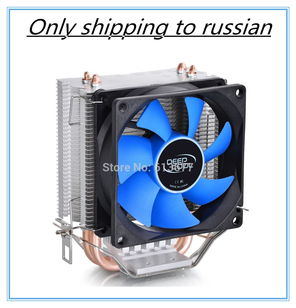 cooler 2 heatpipe, for Intel LGA775/1155/1156/1150, for AMD FM1/FM2/AM3+/AM2+, CPU radiator CPU Fan, DeepCool ice mini Ultimate 4 heatpipe 130w red cpu cooler 3 pin fan heatsink for intel lga2011 amd am2 754 l059 new hot