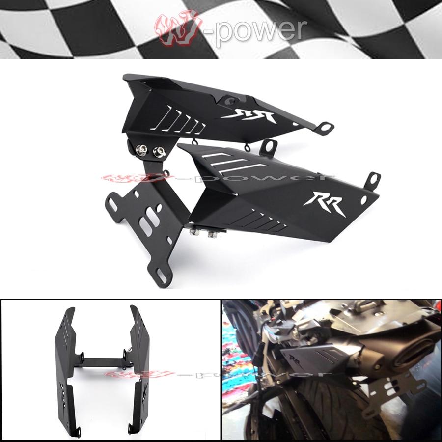 Support de plaque d'immatriculation pour HONDA CBR600RR CBR 600 RR 2007-2011 08 09 10 support de plaque d'immatriculation d'éliminateur d'aile de moto
