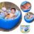 Mambobaby 0-3 Año Para Niños Engrosamiento Bañera opciones de Lavado tazón Plegable Bañera Bebé Piscina Inflable Bebé Bañera Portátil