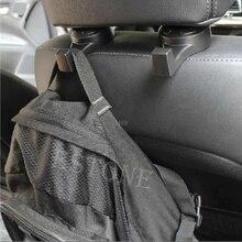 New Car SUV Seat Headrest Stand Black Holder Hooks Hanger Organizer Bag Coats
