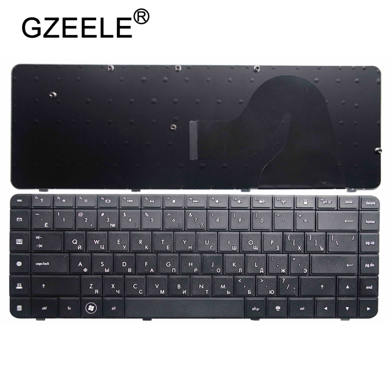 GZEELE For HP  G56 G62 CQ62 CQ56 MP-09J83SU-886 605922-251 589301-251 V112346AS1 AEAX6700110 RU Russian Laptop Keyboard