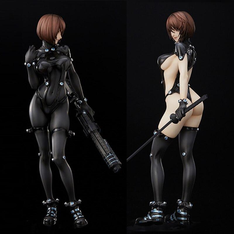 25 cm O GANTZ Figura Anzu Yamasaki Shimohira Reika Xshotgun Espada Versão Sexy Figura de Ação Brinquedos Boneca