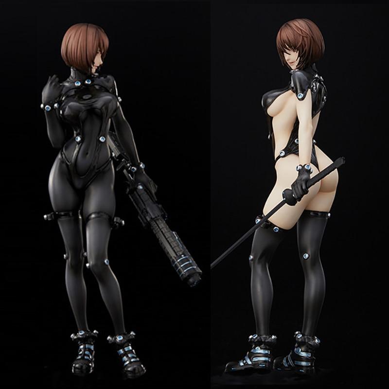 25cm GANTZ O Figure Anzu Yamasaki Shimohira Reika Xshotgun Sword Version Sexy Action Figure Toys Doll