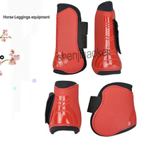Professional Equestrian Horse Leggings equipment Horse Front and rear legs Protective Gear Horse stables supplies 1pc
