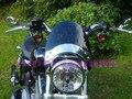 Nuevo para yamaha dragstar v star 650 1100 xvs650 xvs1100 v-star custom bike moto de la motocicleta parabrisas/parabrisas