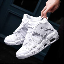 Brand Basketball Shoes Men Women High-top Sports Air Cushion Jordan Hombre Athletic Mens Shoes Comfortable Breathable Sneakers new men s basketball shoes breathable wear resisting formotion athletic shoes high quality sports shoes bs0088