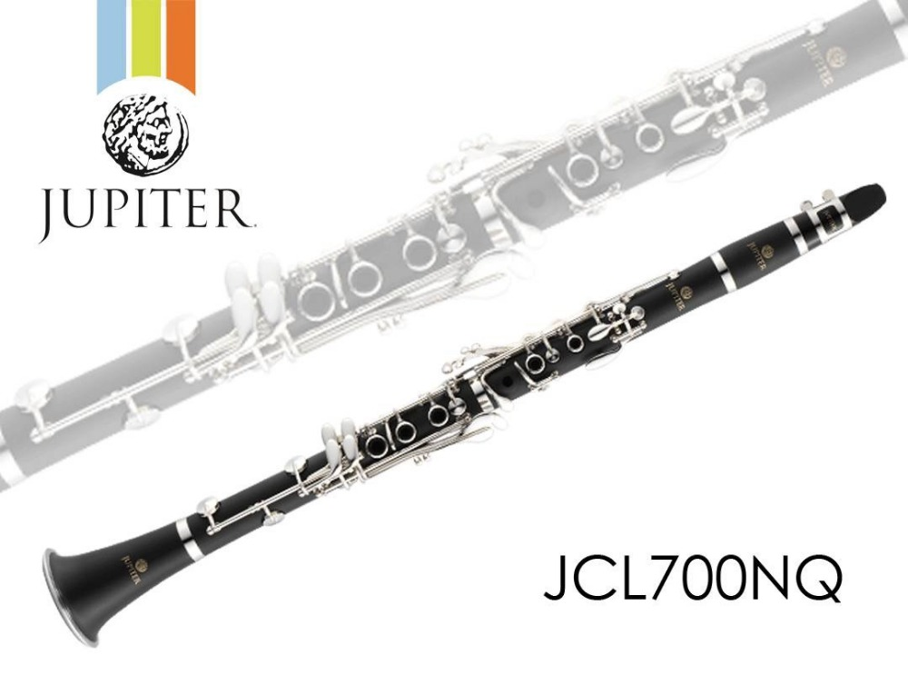 New JUPITER JCL-700NQ B-flat Tune Professional High Quality Woodwind Instruments Clarinet Black Tube With Case Accessories